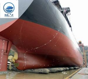 China Ship Launching And Lifting Marine Inflatable Rubber Airbags,marine salvage air lift bags on sale