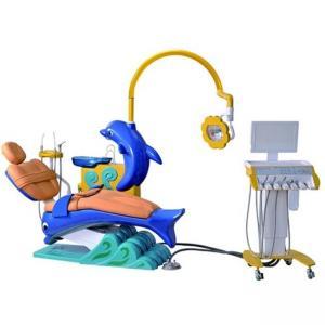 China DTC-326 Cute Dolphin Blue Cartoon Children Kids Dental Chair Unit on sale