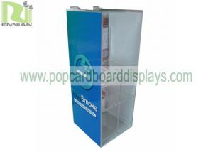 China Customized  Acrylic Electronic Cigarette Display Stand , Acrylic Tabletop Display Modern Type on sale