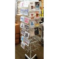 Cds Floor Spinner Display Rack Metal Multi - Layer Greeating Card Display Rack