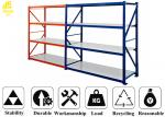 0.5mm Layer Medium Duty Steel Rack Cold Rolled Steel Material 68*35*1.0mm Beam