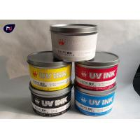 China UV offset printing ink for plastic business card printing accept customization on sale