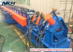 China C Purlin Roll Forming Machine , Galvanized Sheet Roll Forming Machine on sale