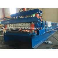 Double Layer Roof Sheet Tile Roll Forming Machine 12-15m/Min New Condition
