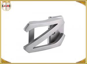 China 注文の形のレーザーによって刻まれるステンレス鋼はニッケルによってブラシをかけられる銀製色を締めます on sale