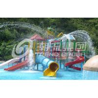 China Riegue el proyecto del parque/el tobogán acuático modificado para requisitos particulares grande durable del patio del agua de los niños on sale