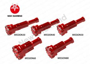 China Geological Exploration Use DTH Tapered Button Bits For Mission Series on sale