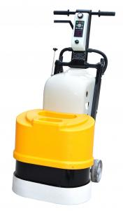 China Single Phase Stone Floor Polisher Concrete Grinding Machine With Dust Skirt on sale