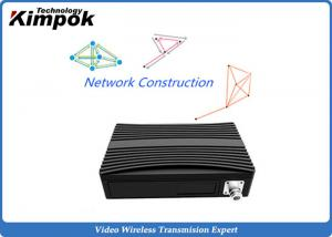 China 340MHz Wifi and 3G / 4G COFDM IP Mesh Full Duplex TDD Wireless Transceiver supplier