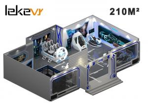 China VR Theme Park Funland Video Game Center / Virtual Reality Amusement Park With CE ROHS on sale