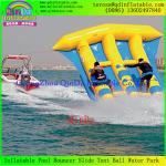 China Free Shipping 0.9mm PVC Tarpaulin 4 Person Inflatable Flying Fish Boat For Surfing wholesale