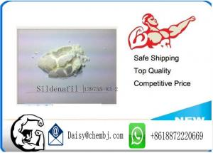 China 98% White Powder Sildenafil Healthy Male Enhancement For Man , Cas No 139755-83-2 on sale