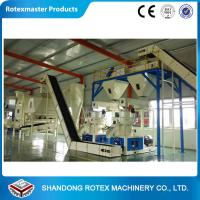 Customized wood pellet production line , biomass pellet machinery 5 tons per hour