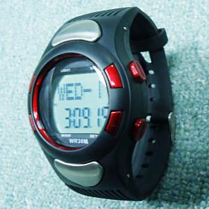 China Hot Sale Digital Heart Rate Pulse Counter Calories Monitor Sport Watch on sale