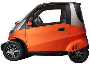 2 Passenger Mini Electric Car 55km H Maximum Speed Air Conditioner 4