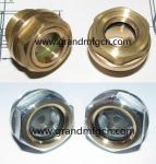 Male thread 1 2 Hexagon Aluminum Oil Sight Glass (Metric & BSP thread),no finishing