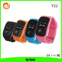 China Hot Sell kids/Children/Student/elderly GPS Tracker Watch with SOS Button Set safezone -T22 on sale