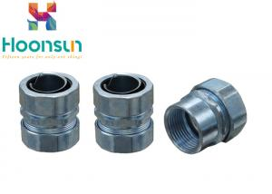 China Zinc Alloly Male Thread Flexible Metal Conduit Fittings Electrical Conduit Connector on sale