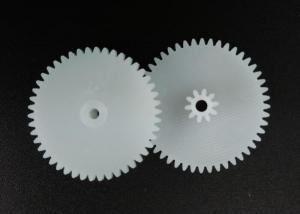 China POM High Precision Gears , 25mm Duplicate Gears for Toy Car Derailleur Straight Teeth on sale