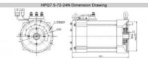 China 7.5kw AC electric motor, starter motor, ac gear motor on sale