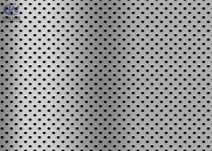 China 1mm SUS316 Stainless Steel Perforated Sheet Metal for Building Industry on sale
