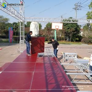 China Outdoor Professional Custom TUV Certification Concert Stage 290mm flat ladder Aluminum Stage Truss on sale