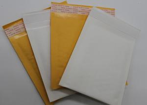 China Padded Courier Kraft Paper Bubble Mailers Self Adhesive Seal Logo Printing Available on sale