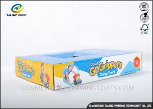 China Recyclable Cardboard Storage Boxes , Corrugated Carton Box For Children Toys on sale