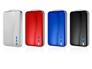 China 4400mAh Portable Power Bank 4400mAh iphone battery extender with Battery Status Indicator on sale