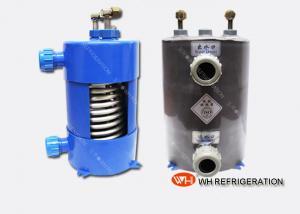 China 1hp Aquarium Chiller Aquarium Heat Exchanger Titanium Evaporator Long Life on sale