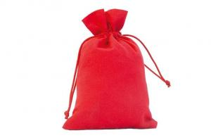 Quality Natural Cotton Drawstring Pouch Small Pull String Bags For Gift