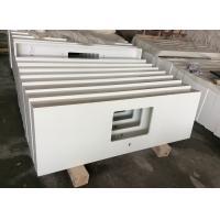 Snow White Quartz Stone, Pure White Artificial Quartz, Quartz Home Countertop