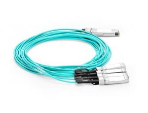 China Compact 4x 25G Ethernet Active Optical Cable Cisco Compatible High Performance on sale