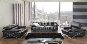 Quality Luxury Living Room Couches Furniture ,  Black Leather Modular Corner Sofa , Hot selling sofa 2015 for sale