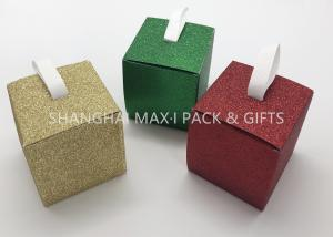 China Folding 3× 3× 3 Xmas Gift Boxes Small To Large , Party Decorative Holiday Gift Containers Cute on sale