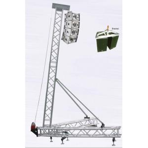 China 8-10M Aluminum Line Array Speaker Truss Hang Up Speakers on sale