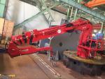 Quickly Move Telescopic Boom Marine Crane For Cargo Ship and Sea Farm marine cranes for sale