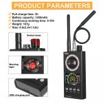 Wireless RF Singal Hidden Anti Spy Detector Camera Finder