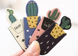 China Personalized Magnetic Bookmarks Clips , Durable Custom Made Bookmarks on sale