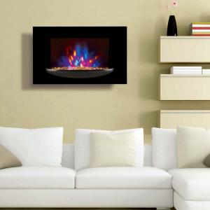 China wall mounted fireplace wall hang real flame effect,colorful style,LED lights,Red,Orange,Blue,EF520P/EF520K,space heater on sale