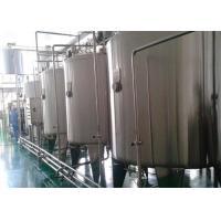China planta de tratamiento fresca del equipo de la maquinaria de tratamiento de la leche de la lechería 1000LPH on sale