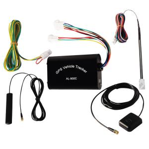 China Al-900c Vehicle Fleet Management Gprs Gps Device Tracker With Free Software / Gsm Antenna on sale
