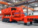 China Aggregate mobile roll crusher wholesale