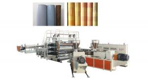 China Latest version Adjustable Size GWC92/188, GWP95, GWP135 LVT luxury vinyl tile production line wholesale