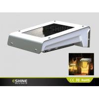 0.66W PIR Solar Motion Sensor Light   solar panel 100Lm  for  garden / yard / aisle