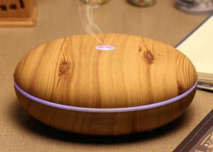 China Flat Shape Aromatherapy Electric Aroma Diffuser Ultrasonic Oil Diffuser on sale