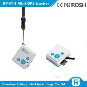 China Reachfar rf-v16 mini personal gps tracker kids with sos button free software gps /gsm/gprs on sale