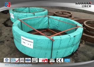 China Wind Power Generator Forged Steel Flanges Annular Welding Customized on sale