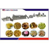 Puff Corn Rice Core Filling Snack Machine Snack Food Extruder