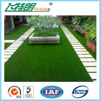China Decoration Laying Fake Grass Turf / PE Curly Landscape Artificial Grass on sale